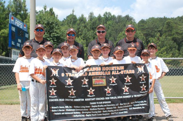 2010 Shades Mountain Park 9 Year Old American White  All Stars ©BluffParkAL.org