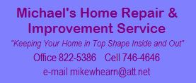 Click on Button for Michael's Brochure (PDF File)